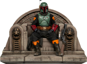 Boba Fett on Throne Deluxe 1:10 Scale Statue