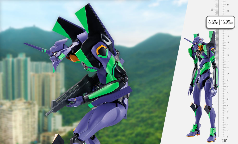 Gallery Feature Image of <Side Eva> Evangelion Test Type-01 Collectible Figure - Click to open image gallery