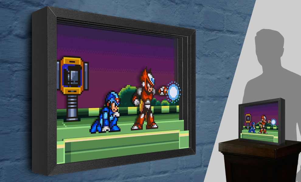 Gallery Feature Image of Mega Man Meets Zero Shadow box art - Click to open image gallery