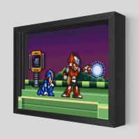 Gallery Image of Mega Man Meets Zero Shadow box art