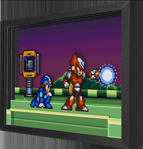 Artovision Mega Man Meets Zero Shadow box art