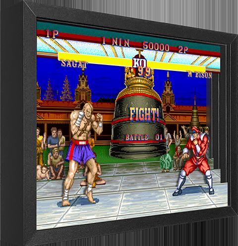 Artovision Street Fighter M. Bison vs. Sagat Shadow box art