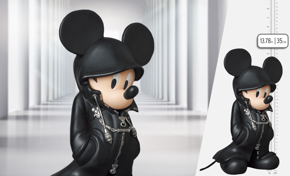 Gallery Feature Image of King Mickey Statue - Click to open image gallery