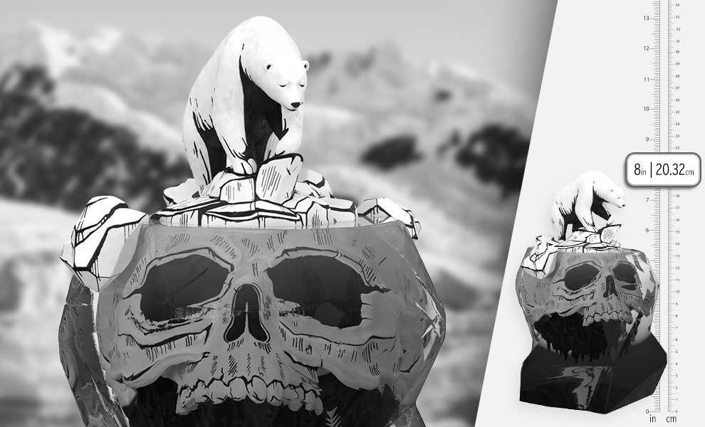 Gallery Feature Image of Global Warning (Inked Edition) Polystone Statue - Click to open image gallery