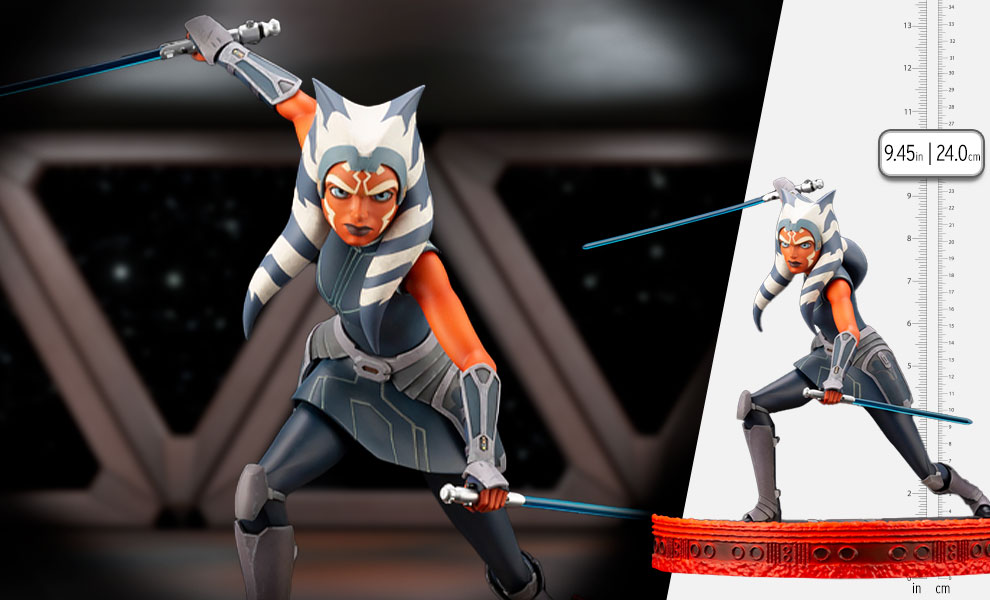 Gallery Feature Image of Ahsoka Tano Statue - Click to open image gallery