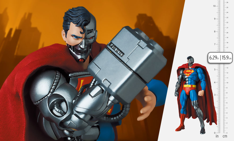 Gallery Feature Image of Cyborg Superman (Return of Superman) Collectible Figure - Click to open image gallery