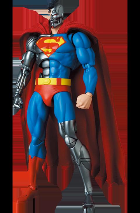 Medicom Toy Cyborg Superman (Return of Superman) Collectible Figure