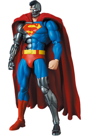 Cyborg Superman (Return of Superman) Collectible Figure