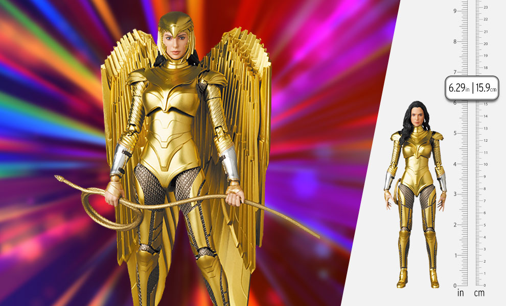 Gallery Feature Image of Wonder Woman (Golden Armor Version) Collectible Figure - Click to open image gallery