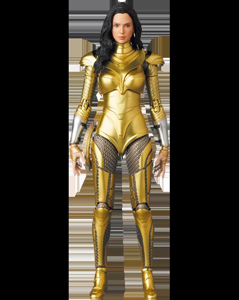 Medicom Toy Wonder Woman (Golden Armor Version) Collectible Figure