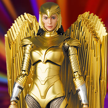 Wonder Woman (Golden Armor Version) Collectible Figure
