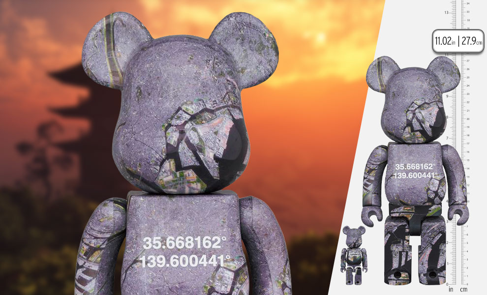 Gallery Feature Image of Be@rbrick Benjamin Grant Overview Tokyo 100% and 400% Bearbrick - Click to open image gallery