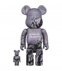 Gallery Image of Be@rbrick Benjamin Grant Overview Tokyo 100% and 400% Bearbrick