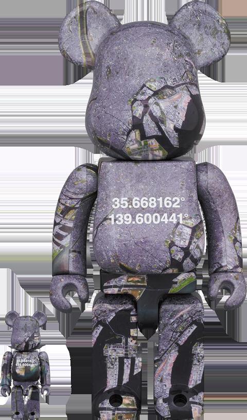 Medicom Toy Be@rbrick Benjamin Grant Overview Tokyo 100% and 400% Bearbrick