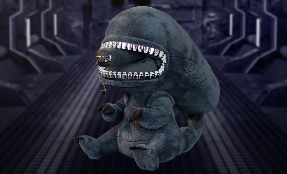 Gallery Feature Image of Xenomorph Zippermouth Premium Plush - Click to open image gallery