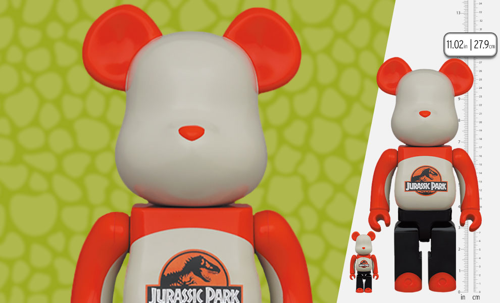 Gallery Feature Image of Be@rbrick Jurassic Park 100% & 400% Bearbrick - Click to open image gallery