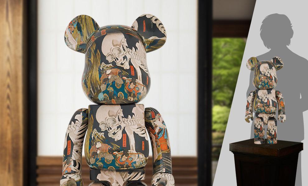 "Gallery Feature Image of Be@rbrick Utagawa Kuniyoshi "" The Haunted Old Palace at Soma"" 1000% Bearbrick - Click to open image gallery"