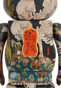 """Gallery Image of Be@rbrick Utagawa Kuniyoshi """" The Haunted Old Palace at Soma"""" 1000% Bearbrick"""