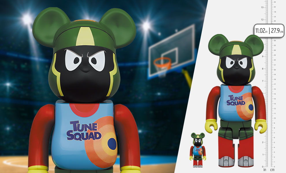 Gallery Feature Image of Be@rbrick Marvin the Martian 100% and 400% Bearbrick - Click to open image gallery