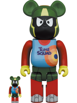 Be@rbrick Marvin the Martian 100% and 400% Bearbrick
