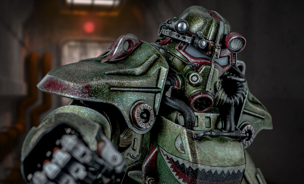Gallery Feature Image of T-45 Hot Rod Shark Armor Pack Sixth Scale Figure Accessory - Click to open image gallery