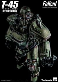 Gallery Image of T-45 Hot Rod Shark Armor Pack Sixth Scale Figure Accessory