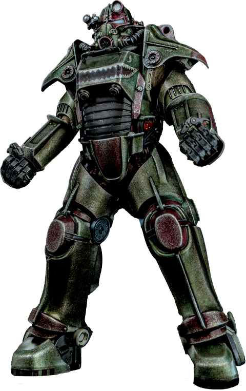 Threezero T-45 Hot Rod Shark Armor Pack Sixth Scale Figure Accessory