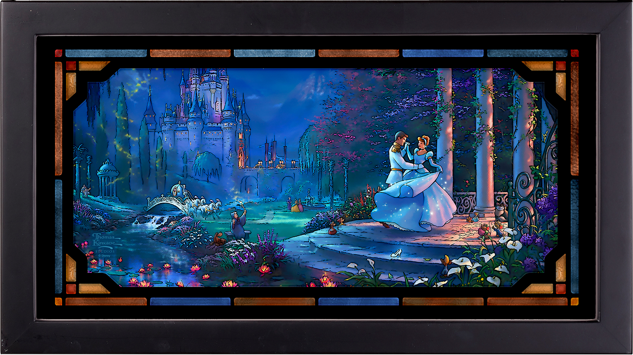 Art Brand Studios Cinderella Dancing in the Starlight Stained Glass
