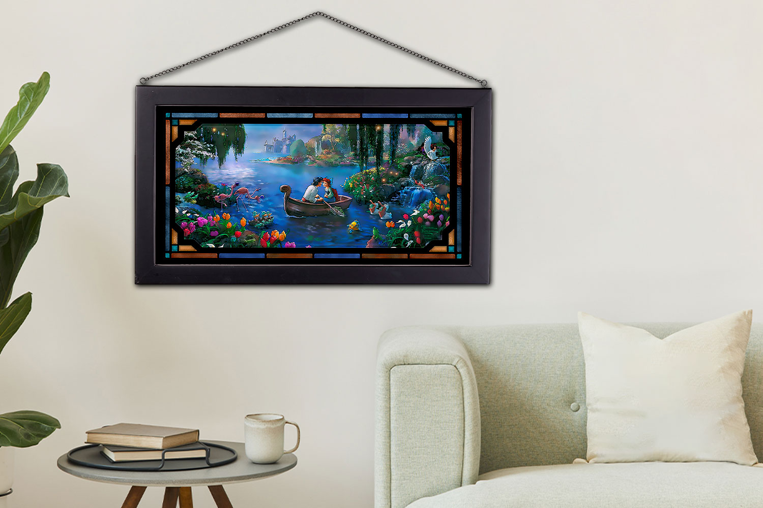 Gallery Feature Image of The Little Mermaid II Stained Glass - Click to open image gallery