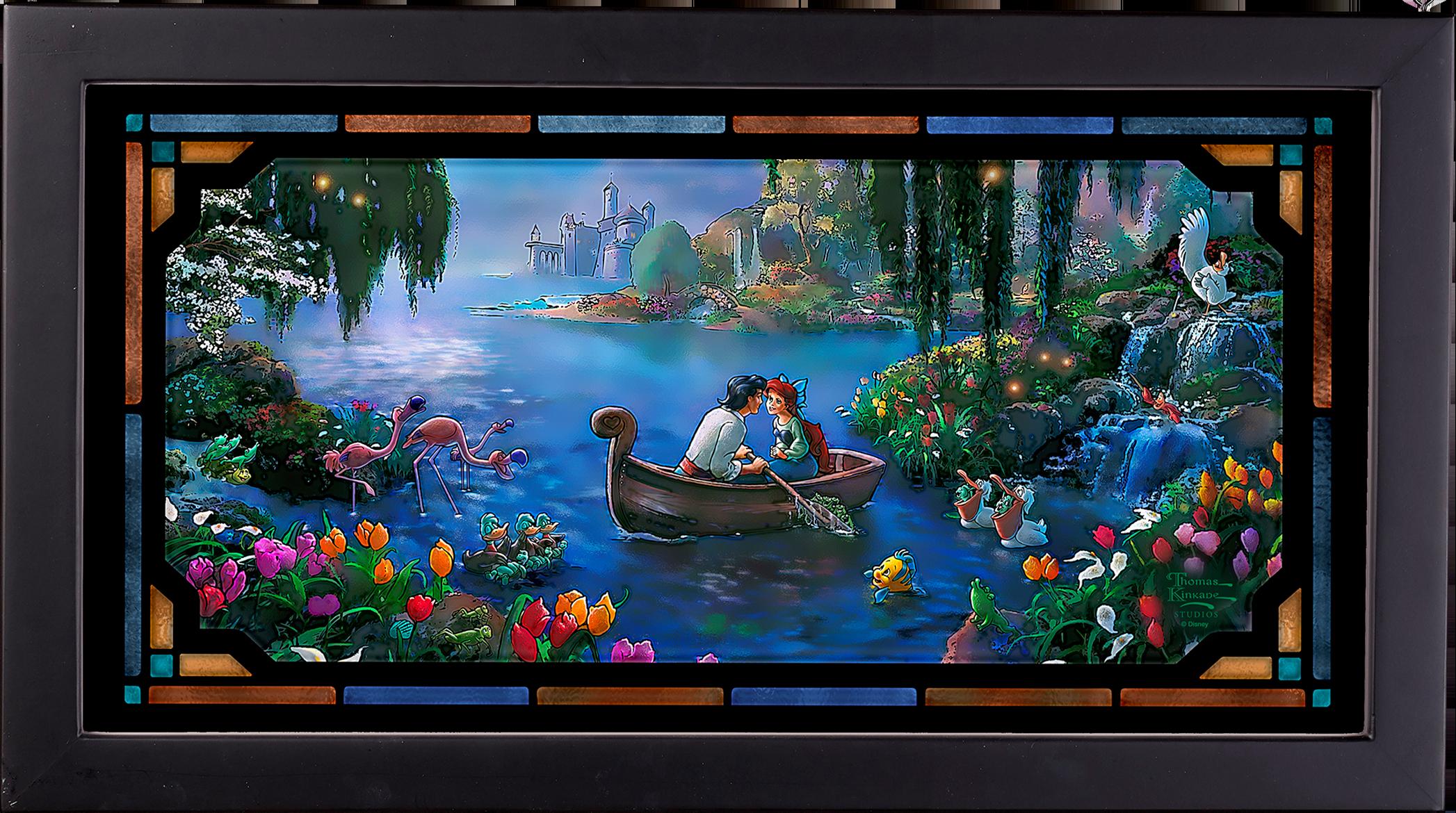 Art Brand Studios The Little Mermaid II Stained Glass