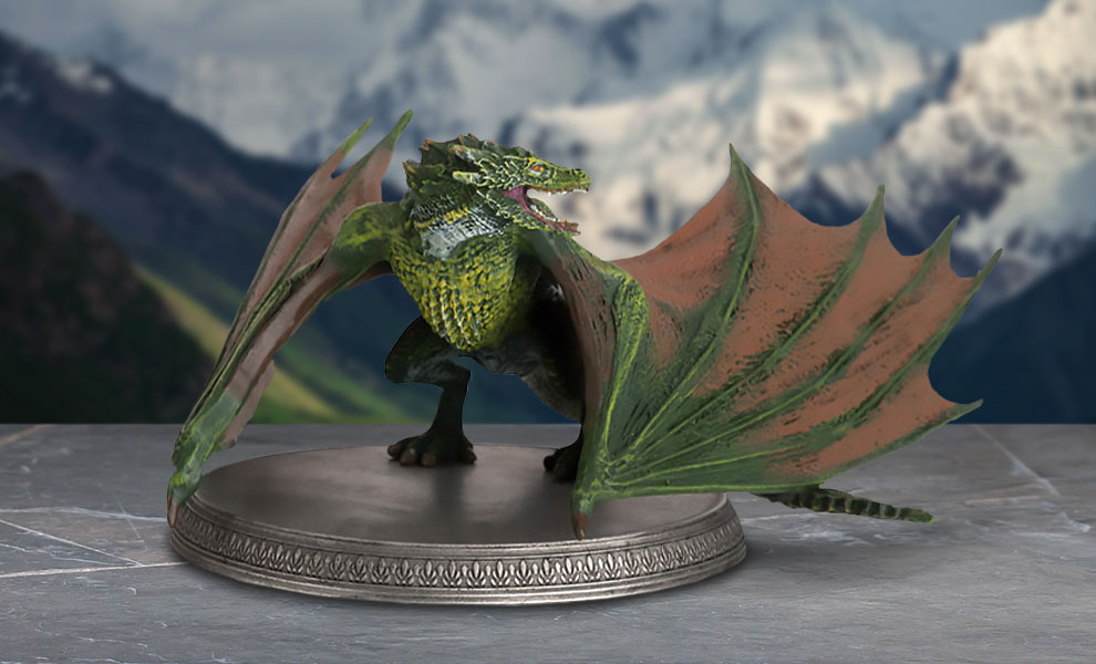 Gallery Feature Image of Rhaegal the Dragon Figurine - Click to open image gallery