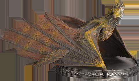 Eaglemoss Viserion the Dragon Figurine