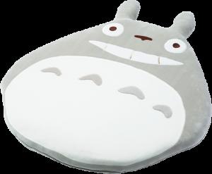 Big Grey Totoro Midday Nap Cushion Pillow