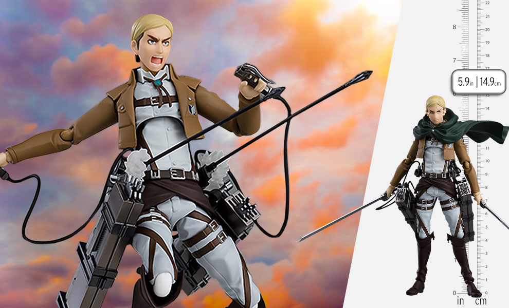 Gallery Feature Image of Erwin Smith Figma Collectible Figure - Click to open image gallery