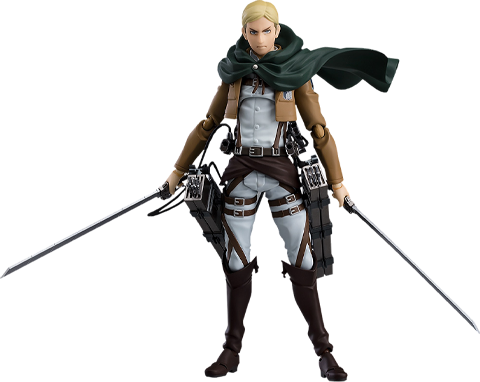 Max Factory Erwin Smith Figma Collectible Figure
