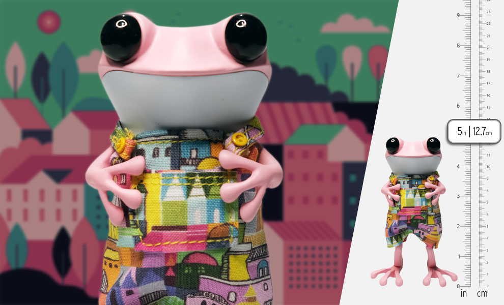Gallery Feature Image of Townie Froggie Designer Toy - Click to open image gallery