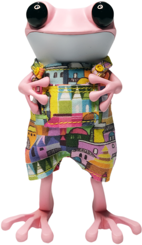 twelveDot Townie Froggie Designer Toy