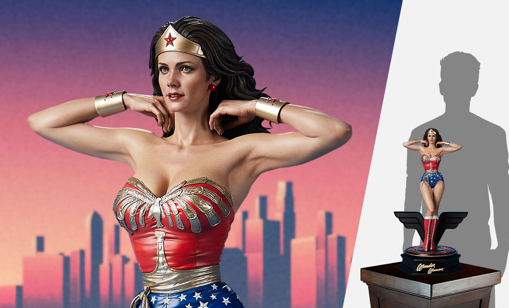Gallery Feature Image of Wonder Woman 1:3 Scale Statue - Click to open image gallery