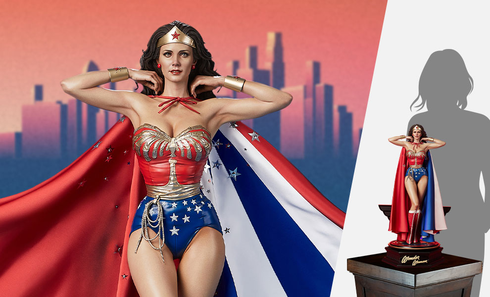 Gallery Feature Image of Wonder Woman (Bonus Version) 1:3 Scale Statue - Click to open image gallery
