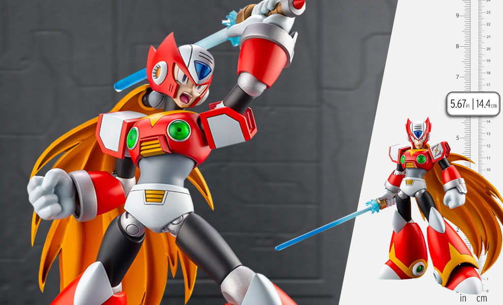 Gallery Feature Image of Mega Man X Zero Model Kit - Click to open image gallery