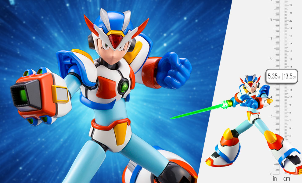 Gallery Feature Image of Mega Man X Max Armor Model Kit - Click to open image gallery