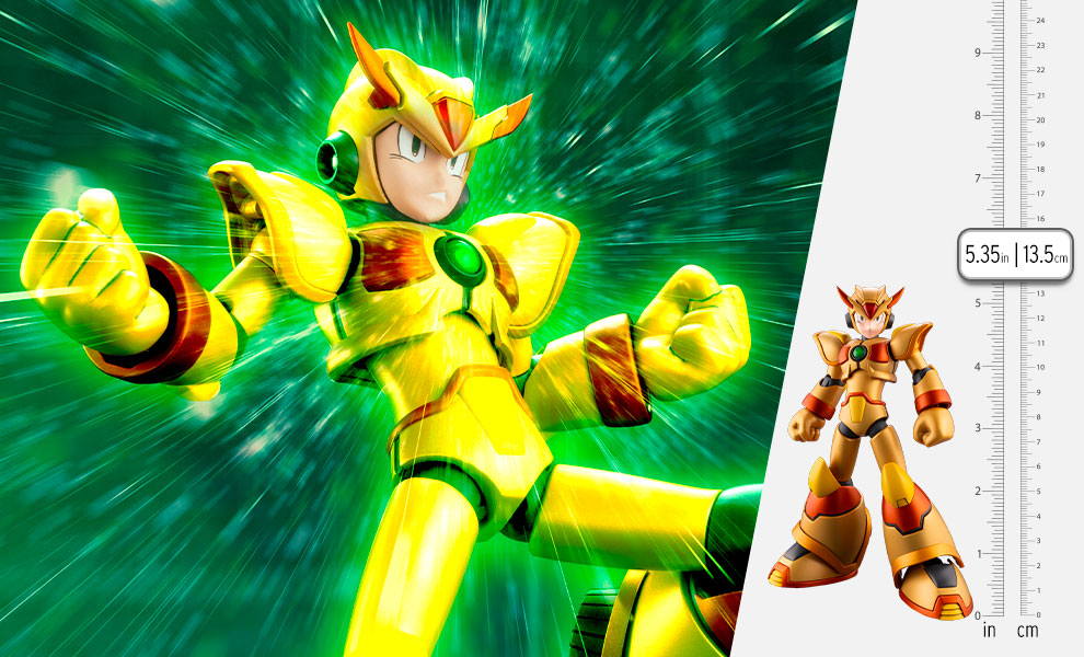 Gallery Feature Image of Mega Man X Max Armor (Hyperchip Version) Model Kit - Click to open image gallery