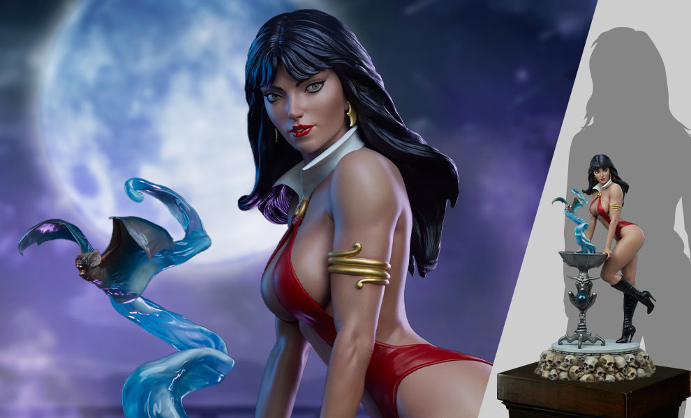 Gallery Feature Image of Vampirella 1:3 Scale Statue 1:3 Scale Statue - Click to open image gallery
