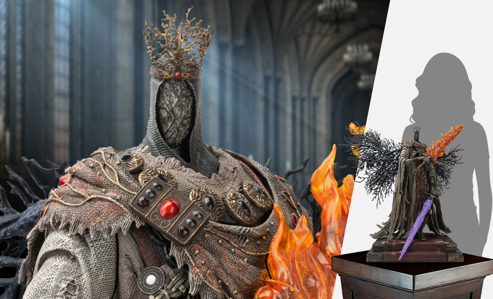 Gallery Feature Image of Pontiff Sulyvahn (Standard) Statue - Click to open image gallery