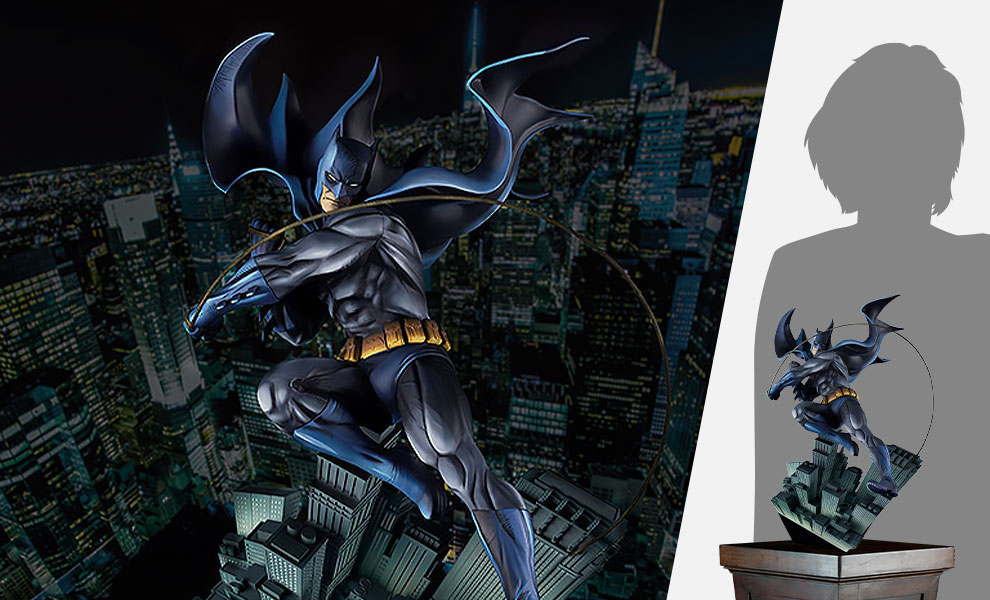 Gallery Feature Image of Art Respect: Batman Statue - Click to open image gallery