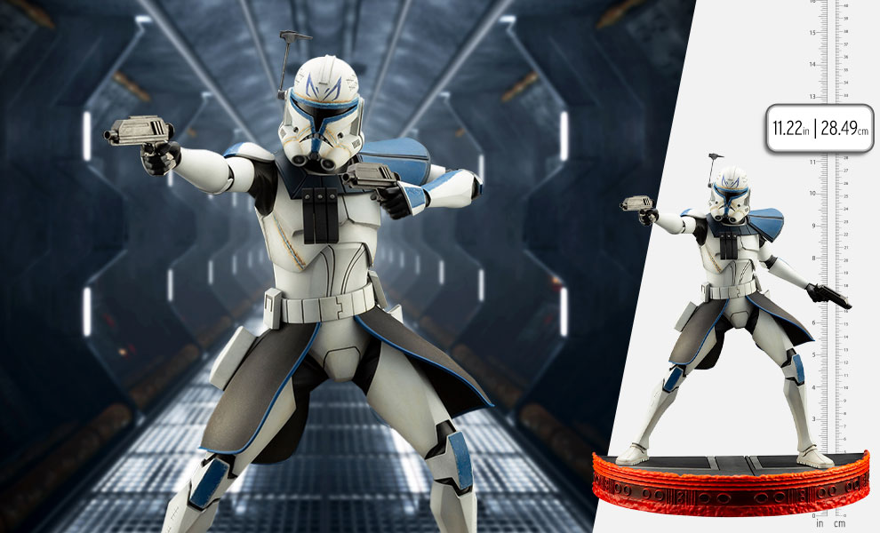 Gallery Feature Image of Captain Rex Statue - Click to open image gallery