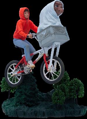 E.T. & Elliot 1:10 Scale Statue
