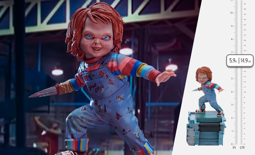 Gallery Feature Image of Child's Play II Chucky 1:10 Scale Statue - Click to open image gallery