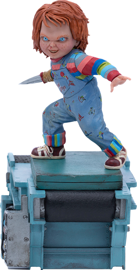 Iron Studios Child's Play II Chucky 1:10 Scale Statue