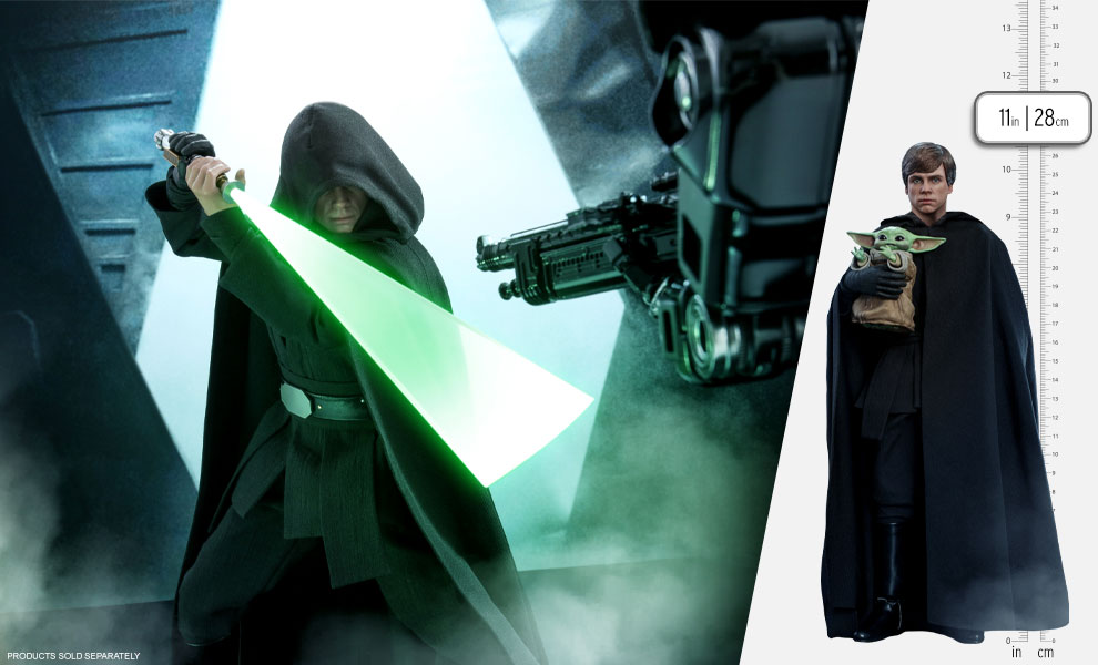 Gallery Feature Image of Luke Skywalker (Special Edition) Sixth Scale Figure - Click to open image gallery
